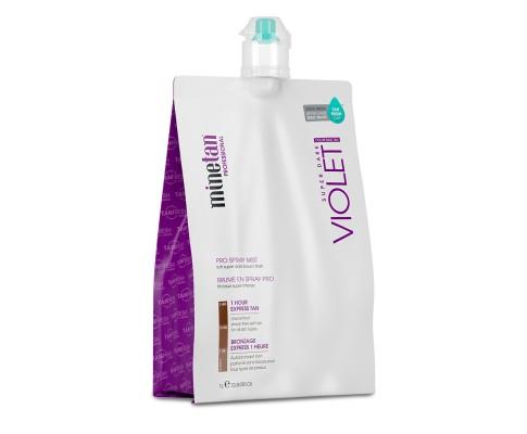 Minetan Professional Sunless Spray Tan Solution - Violet - COLE
