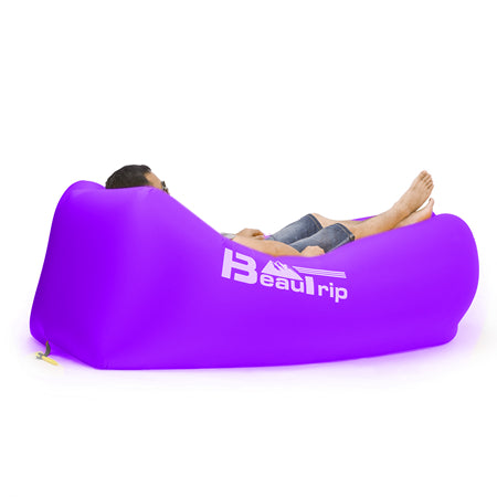 BeauTrip Inflatable Hammock Couch - COLE