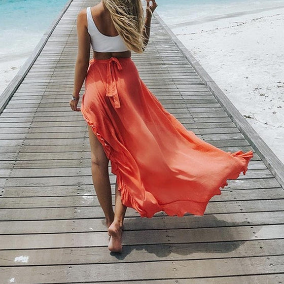 Beach Cover Up Skirt - COLE
