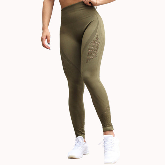 Seamless High Waist Leggings - COLE
