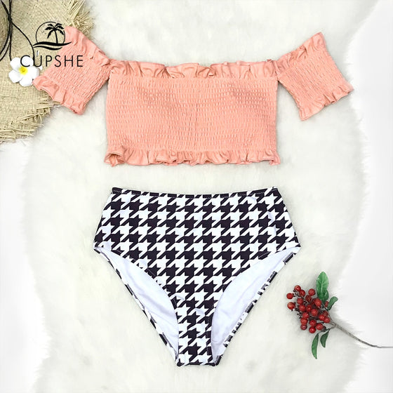 Off Shoulder Bikini Set - COLE
