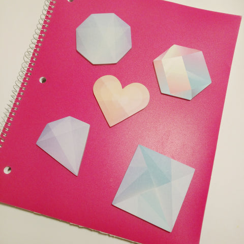 Jewel Sticky Note Set