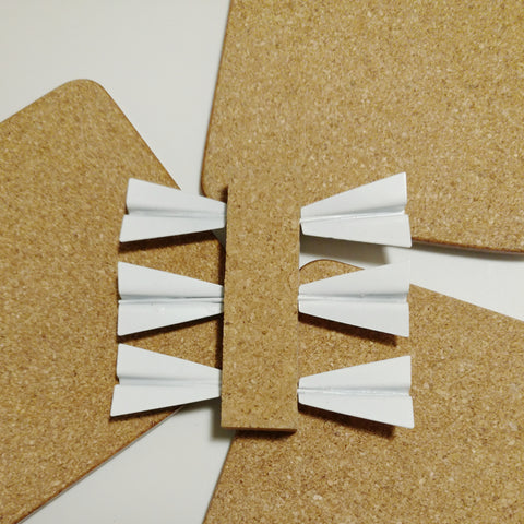 Paper Plane Push Pins Set