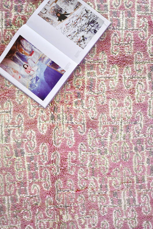 all about the colorful beni mguild rug, morocco's magic carpet and a favorite with interior designers