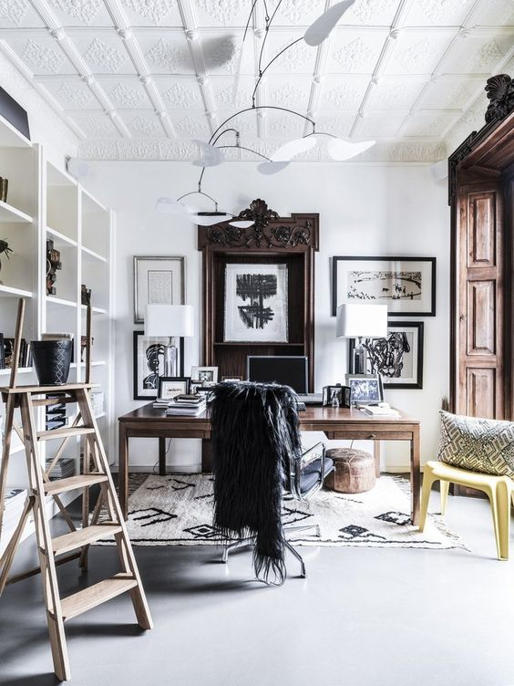 beautiful rooms with beni ourain: malene birger's home in Denmark features many vintage berber rugs