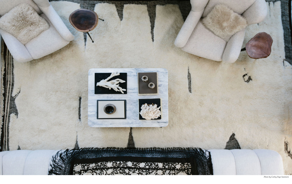 how to choose the size of your rug, for bedroom or living room