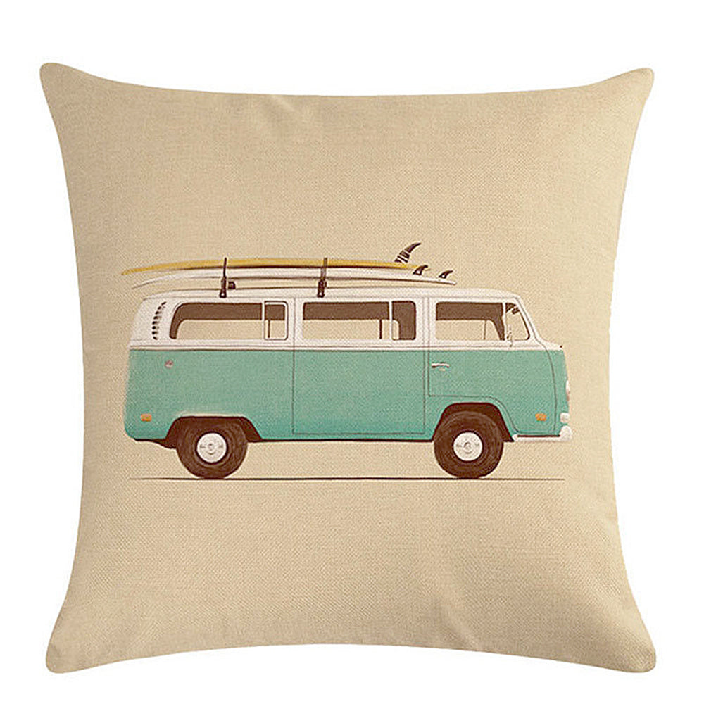 Volkswagon Bus Pillow