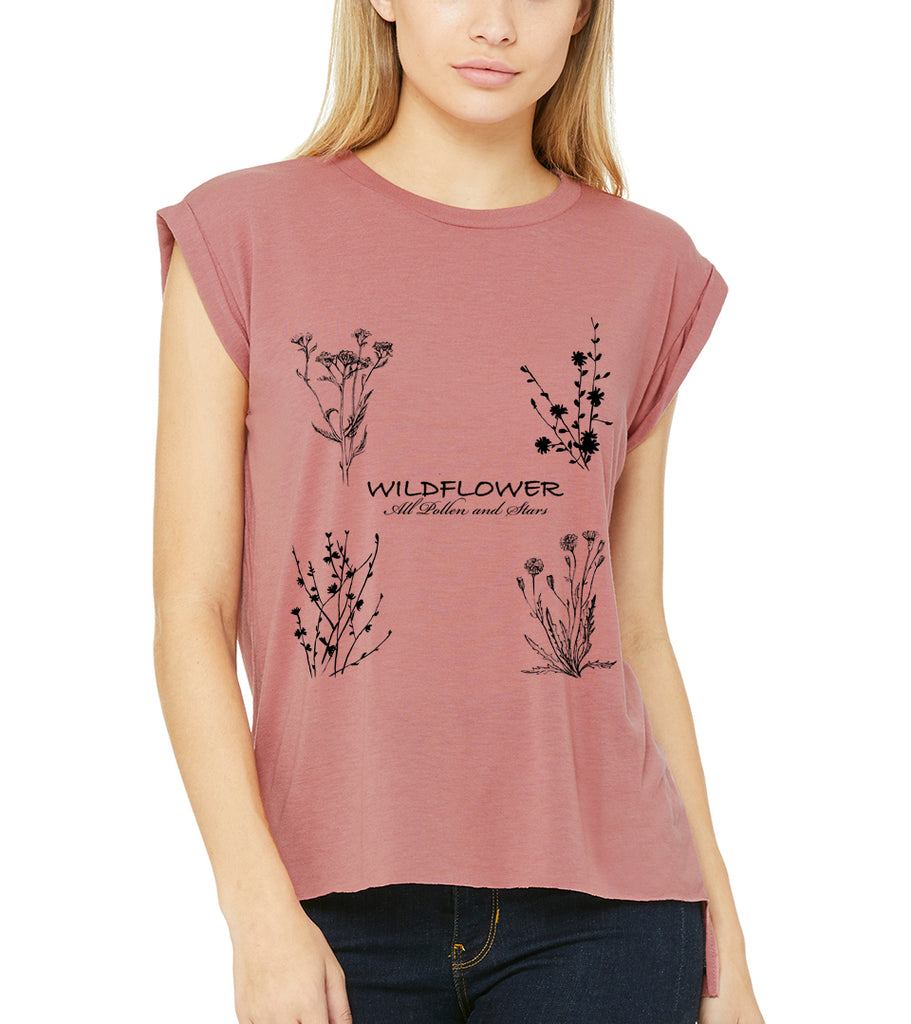 Wildflower Muscle Tee
