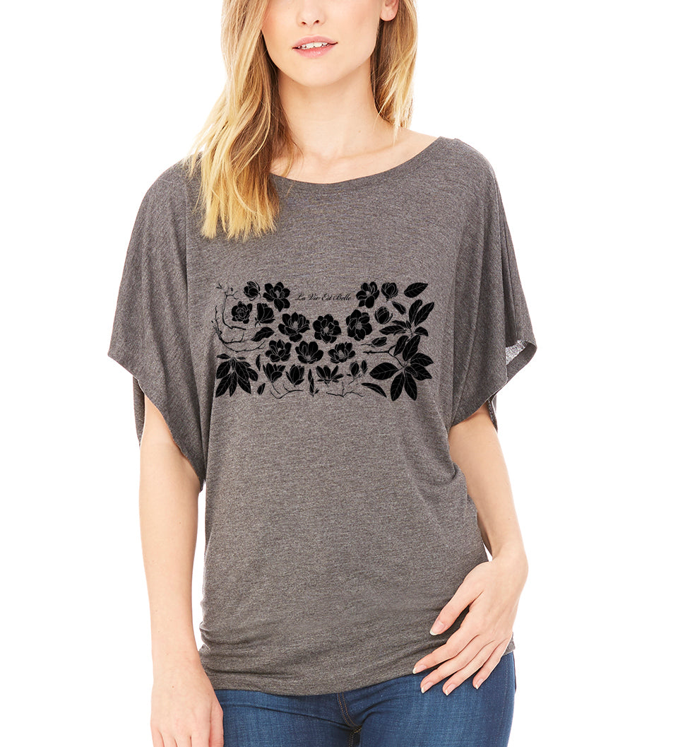 Belle Vie Blossoms Tee