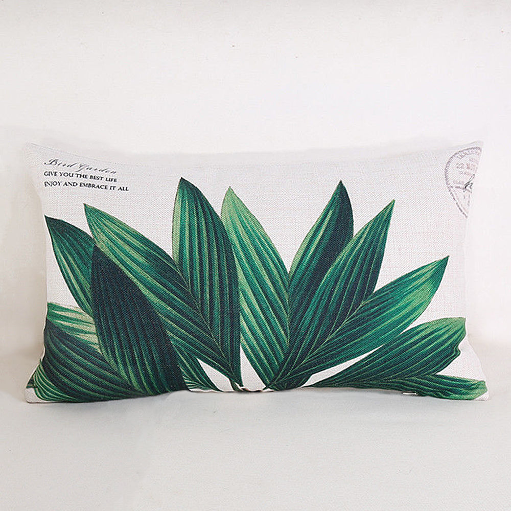 Green Garden Pillow