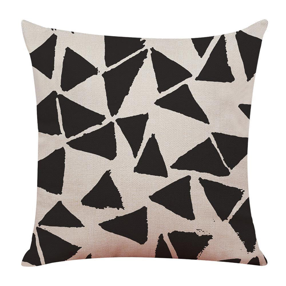 Abstract Leaves Pillow