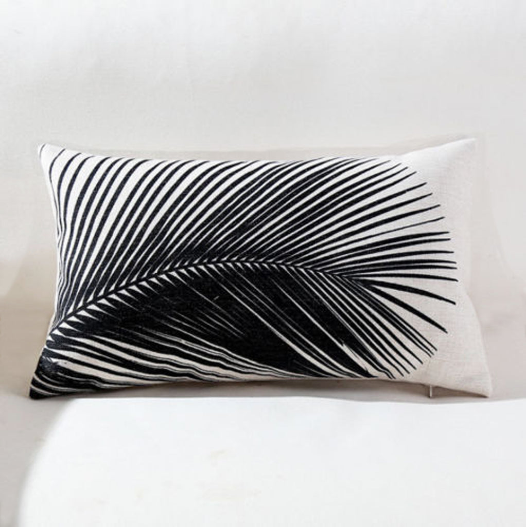 Palm Fronds Pillow