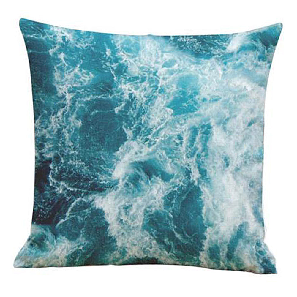 Blue Ocean Pillow