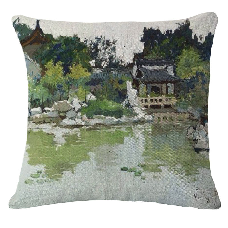 Green Lake Pillow