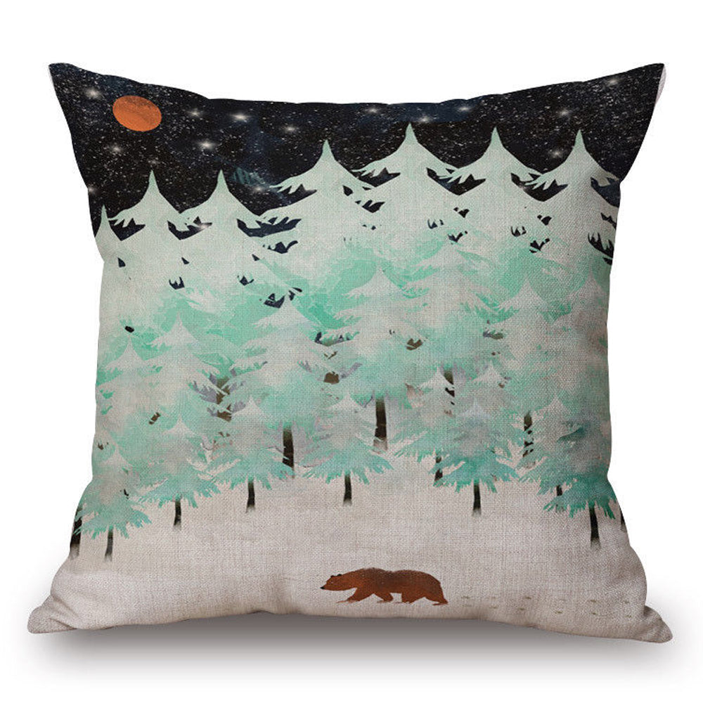 Forest Night Pillow