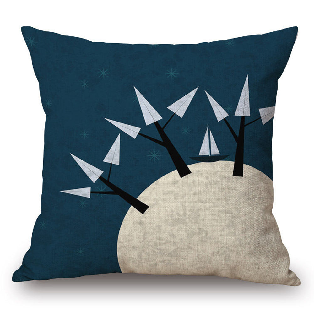 Moon Trees Pillow