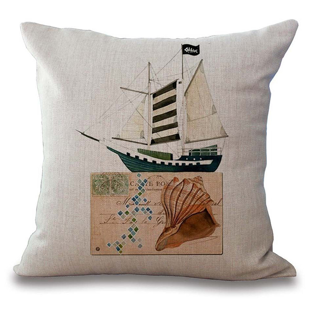 Pirate Ship Pillow