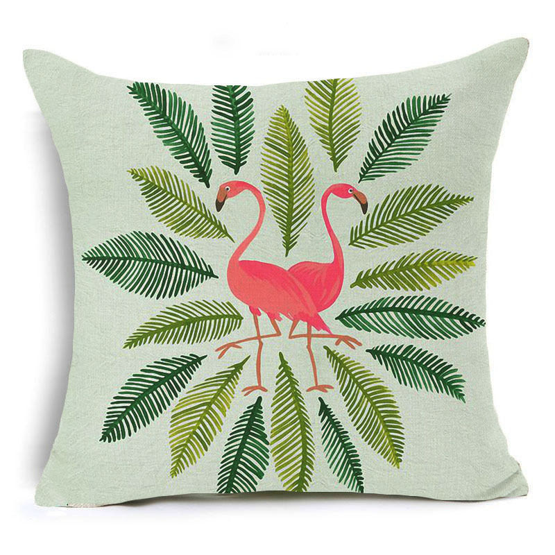 Flamingos Pillow