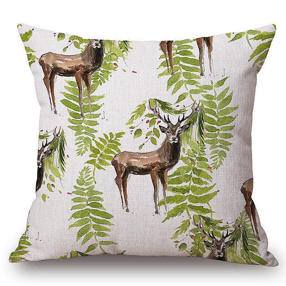 Forest Creature Pillow