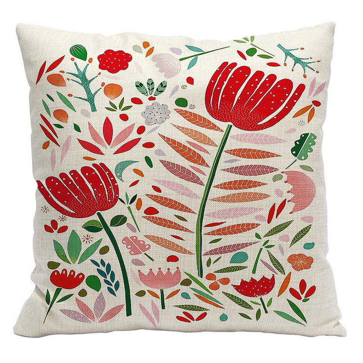 Bavarian Flowers Pillow