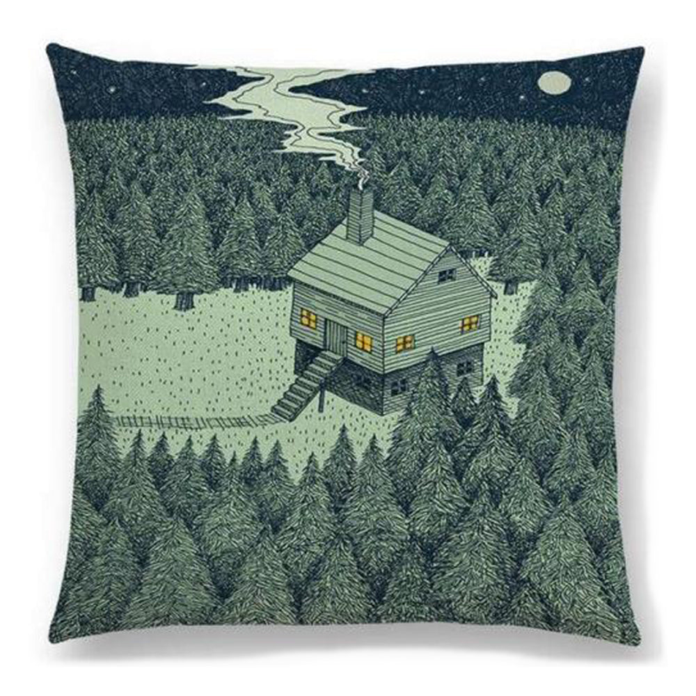 Cabin in the Woods Pillow