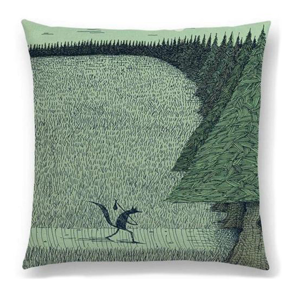 Fox Adventure Pillow
