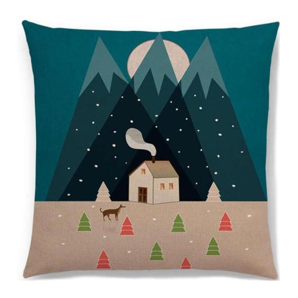 Mountain Cabin Pillow