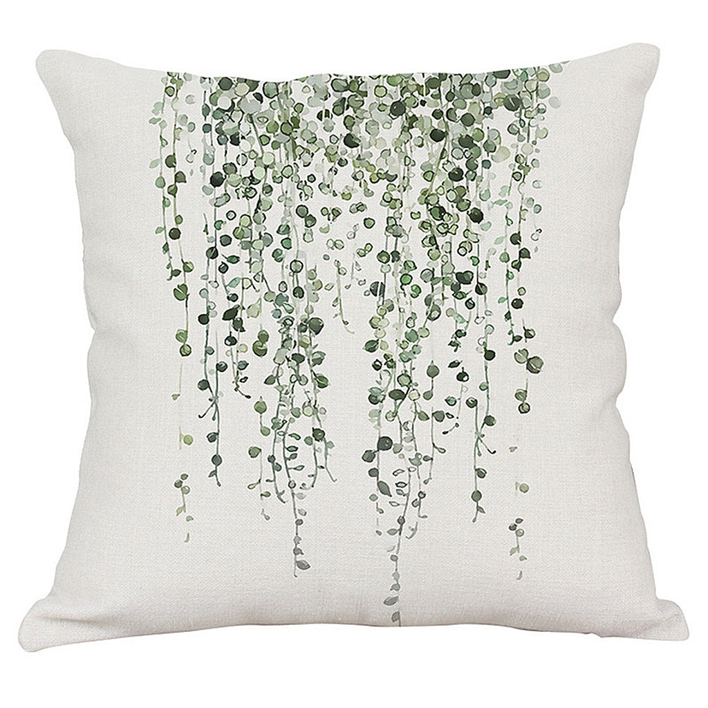 Green Minimalist Pillow