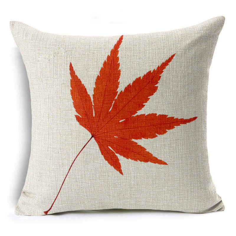 Autumn Maple Pillow