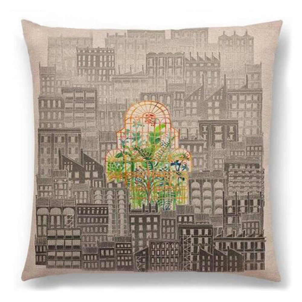 Heart of the City Pillow