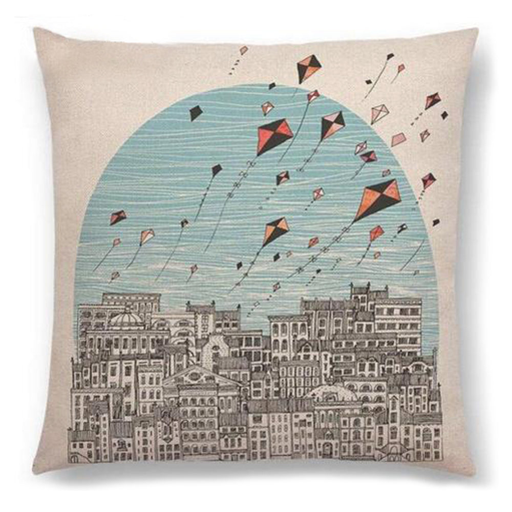 Kite Festival Pillow