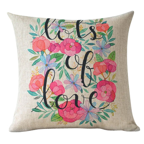 Garden Love Pillow