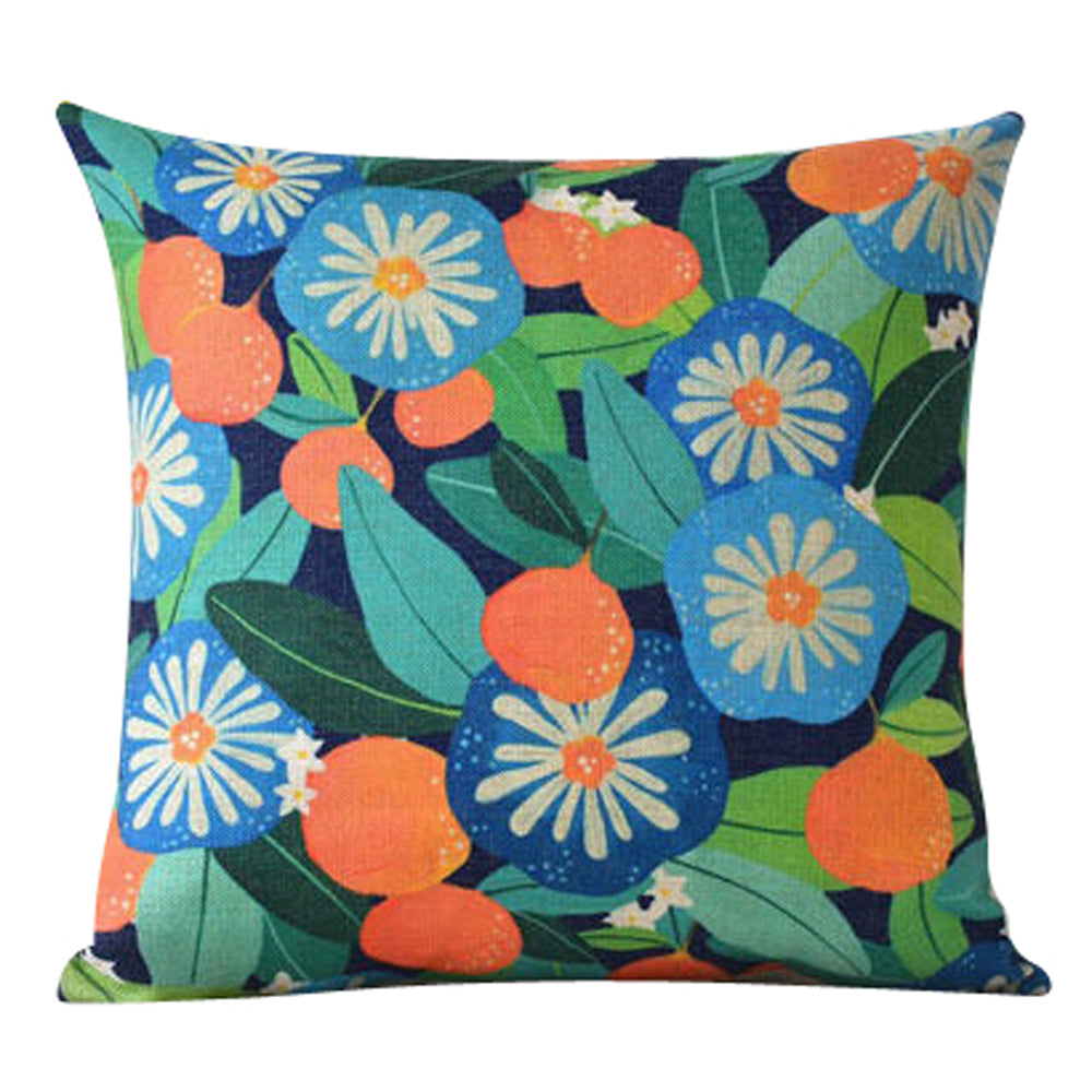 Happy Flowers Pillow