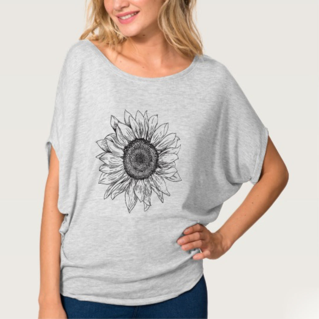 Sunflower Dolman Tee