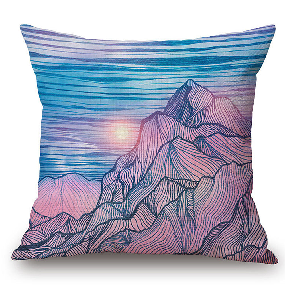 Mountain Sunrise Pillow
