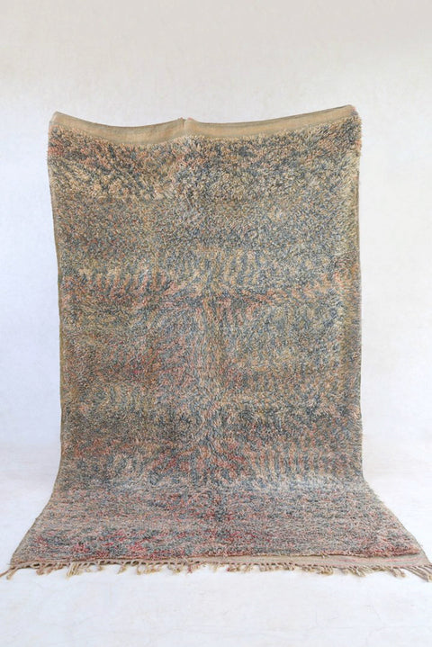 "RIVER 10'7""x6'5"" - Beni ourain, vintage moroccan rug, beni mguild, custom rug - the gardener's house"