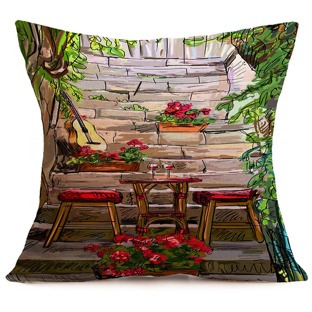 Hidden Cafe Pillow