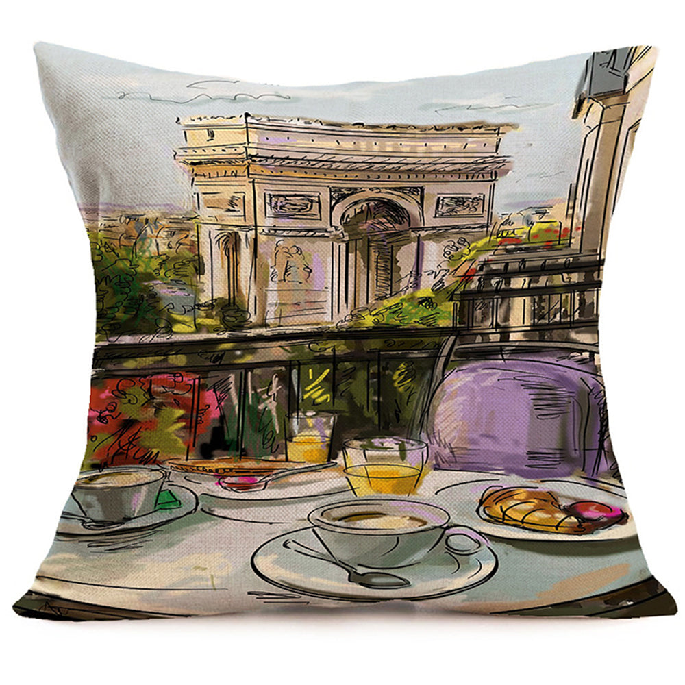 Paris Balcony Pillow