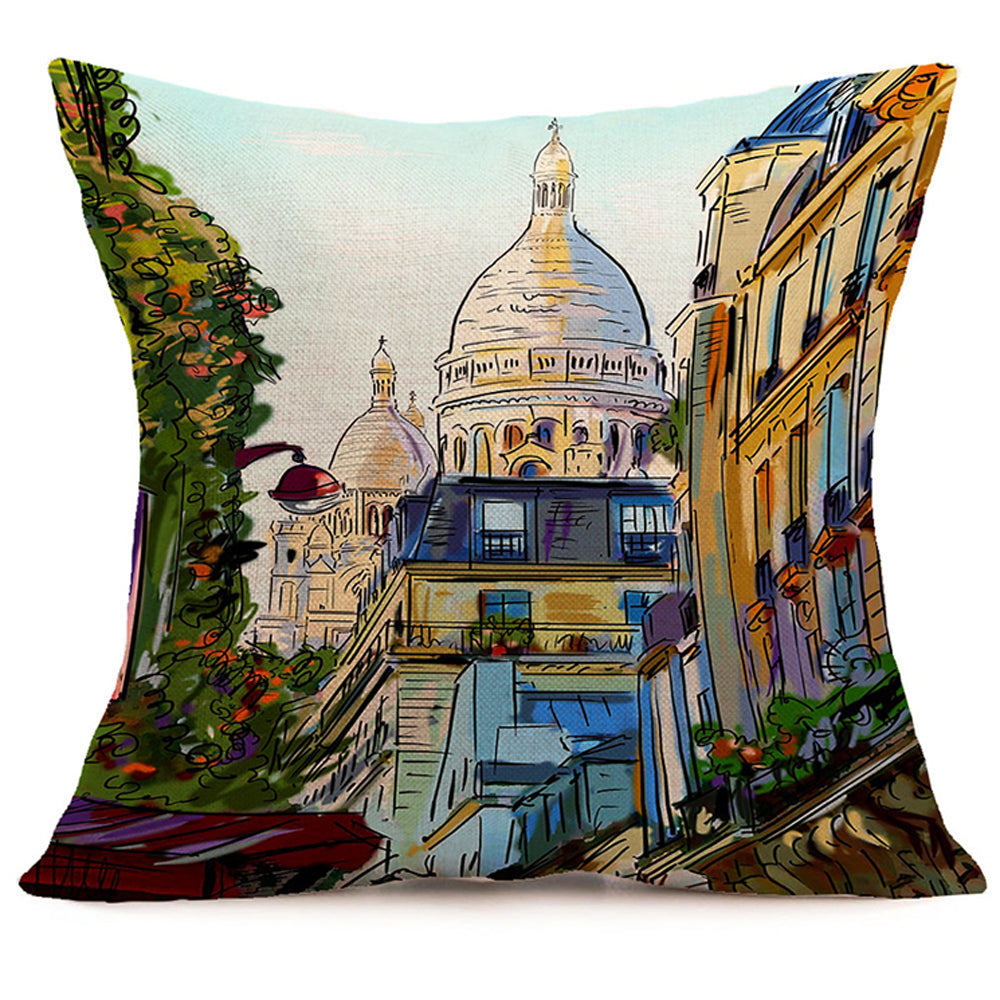 Paris Sights Pillow
