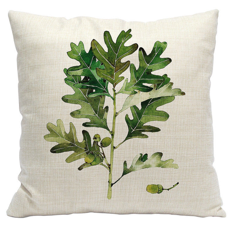 Oak Branch Pillow