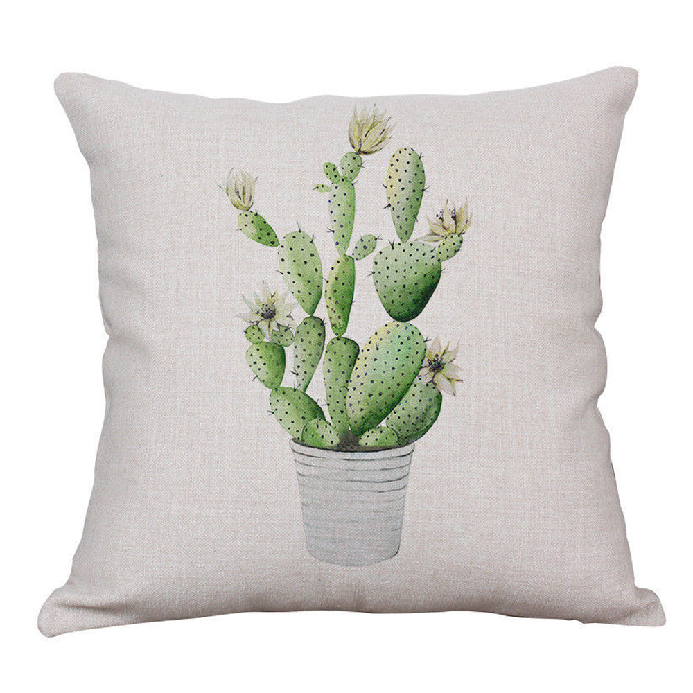 Potted Cactus Pillow