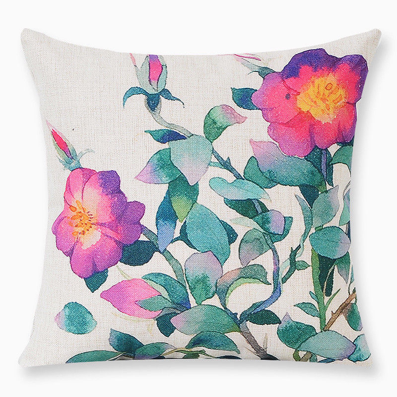 All the Pretty Flowers Pillow