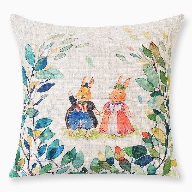 A Garden View Pillow