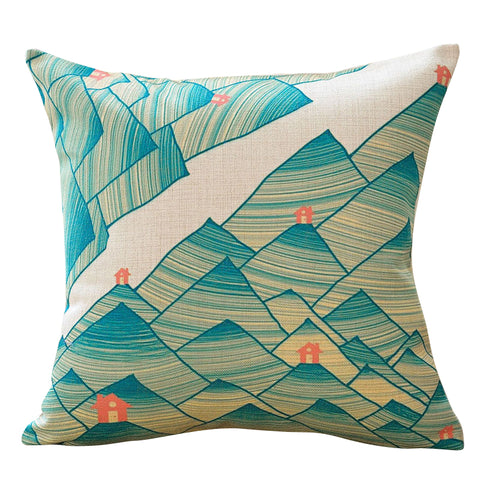 Green Valley Pillow