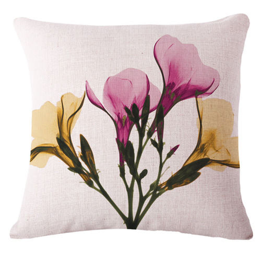 Transparent Petals Pillow