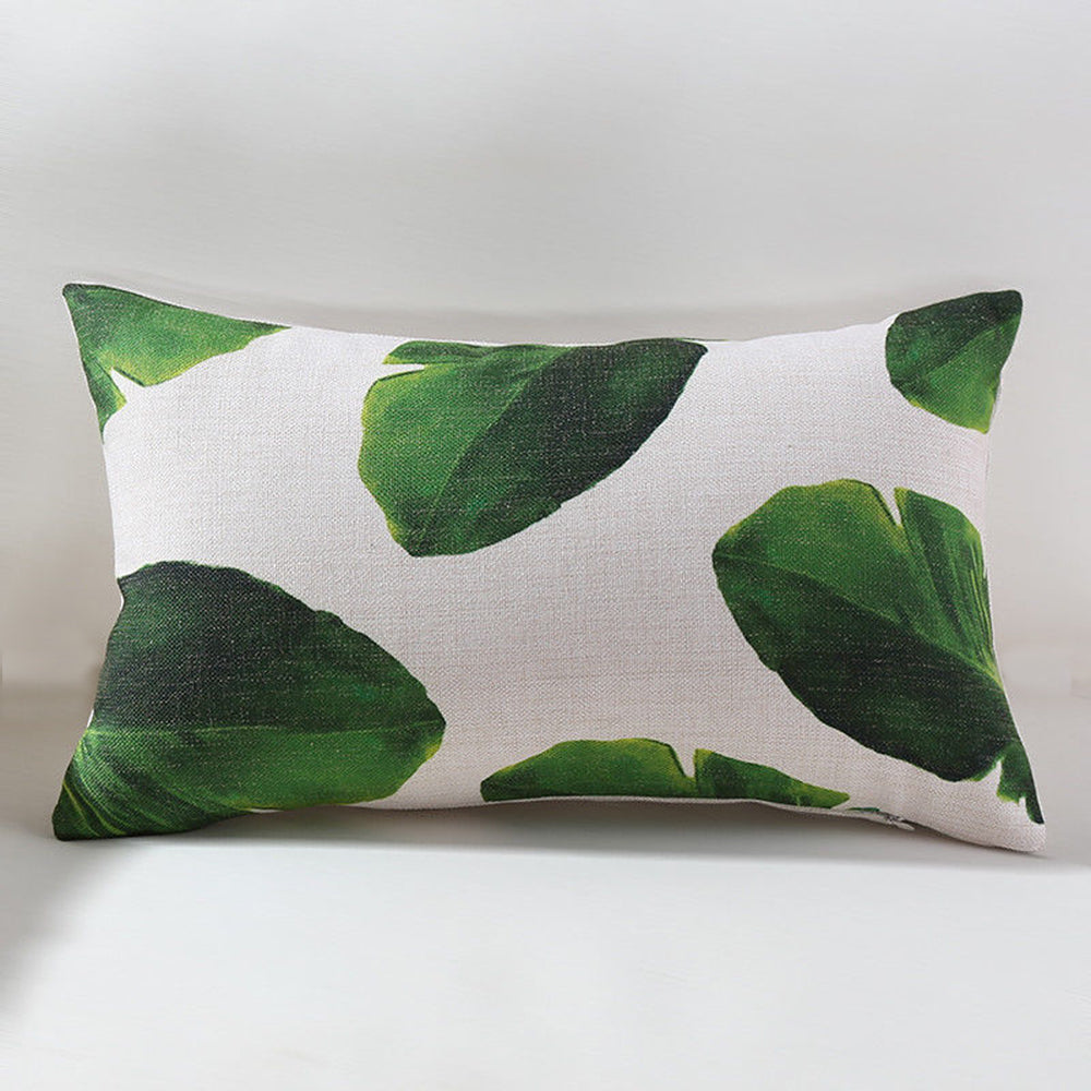 Draped Leaf Pillow