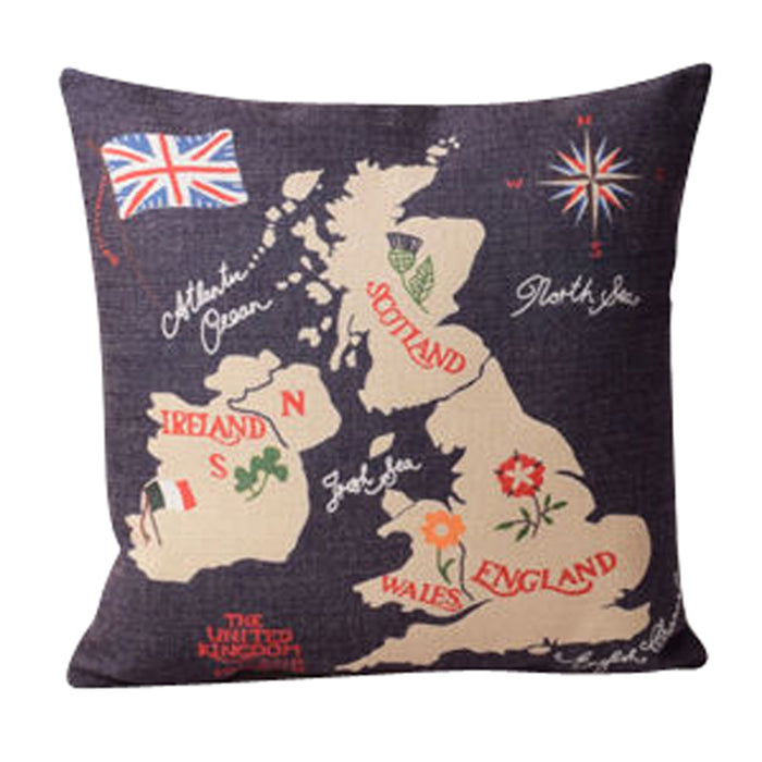 United Kingdom Pillow