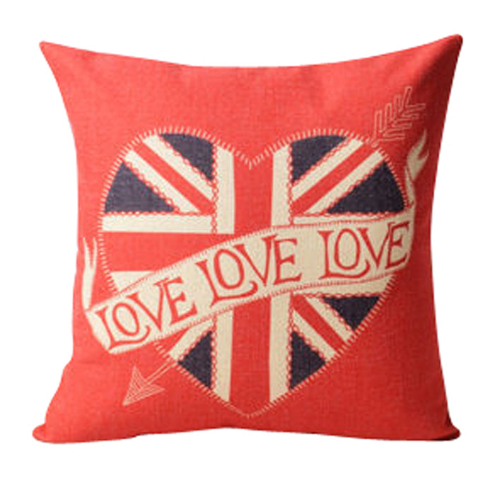 London With Love Pillow