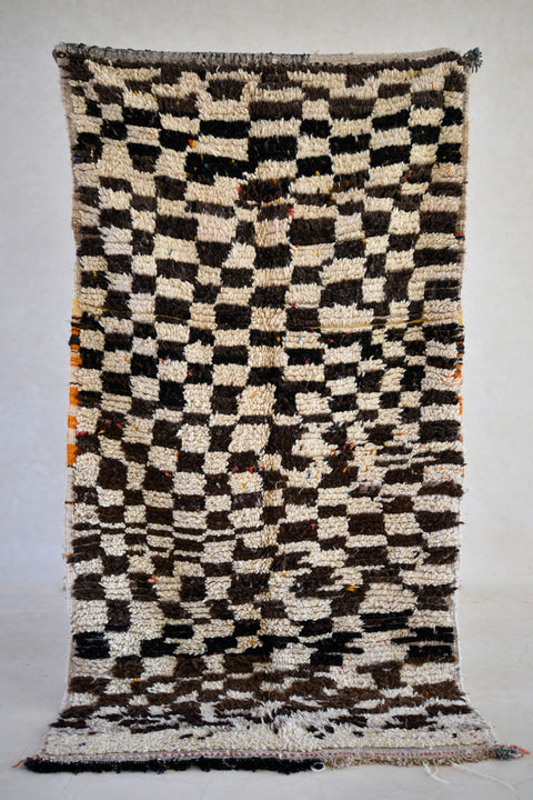 "THE MODERN MODS Azilal Rug. 7'4"" x 3'10"""