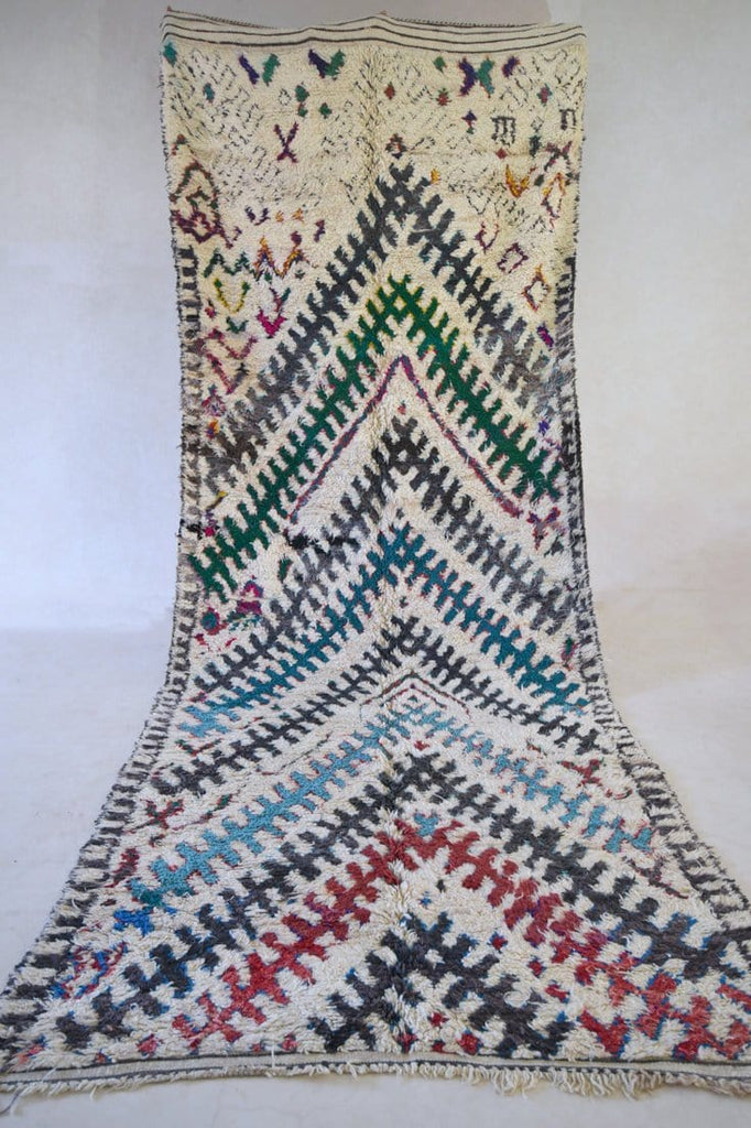 "We Have ALWAYS LIVED In A CASTLE Azilal Rug. 15'5"" x 6'1"""